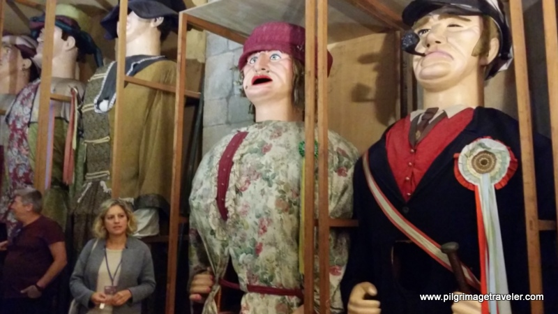 Marionettes for the St. James Festival, Santiago de Compostela, Spain