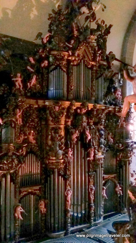 Embellished Organ of the Cathedral of Santiago de Compostela, Spain