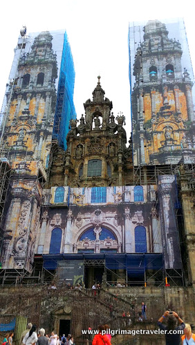 Western Façade of the Cathedral of Santiago de Compostela