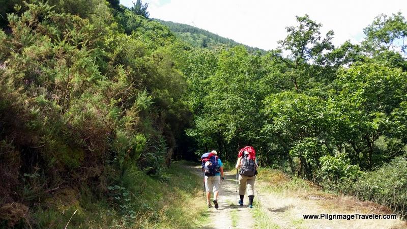Camino Primitivo near Salas, Asturias, Spain