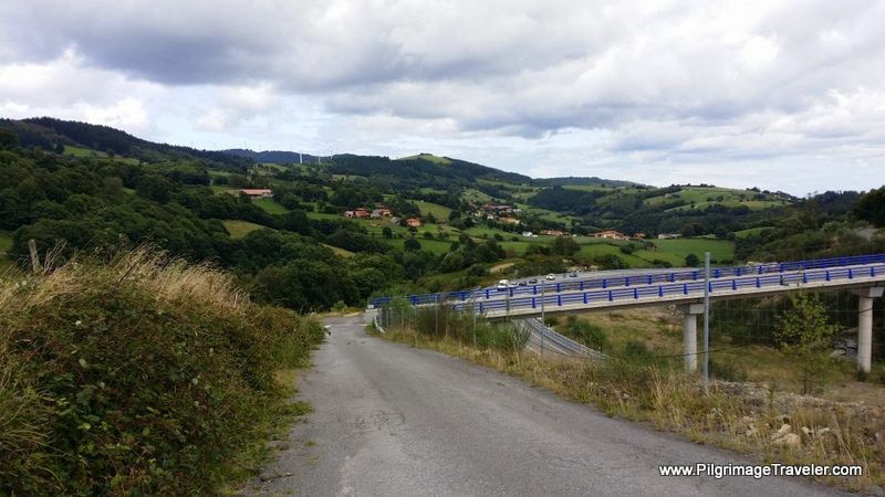 The Track to Porciles, Original Way, Asturias, Spain