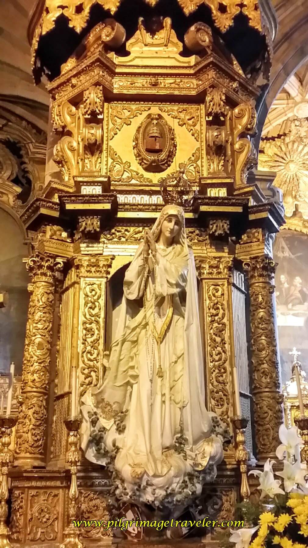 Altar in Church to Fátima