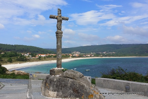 The Cross on the Camino to Finisterre, Spain, as you enter the city.