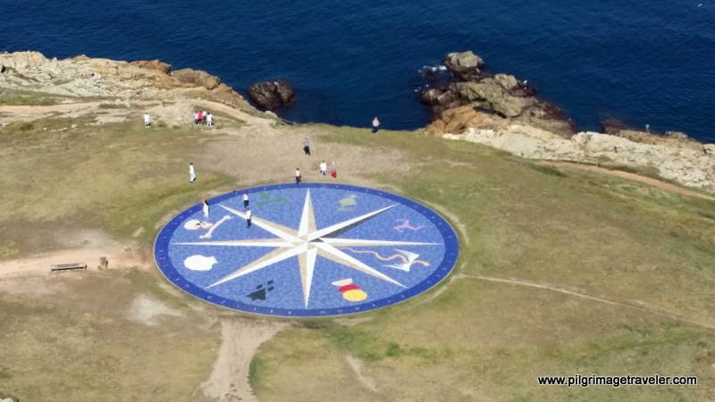 View from the Tower of Hercules, La Coruña, Galicia, Spain