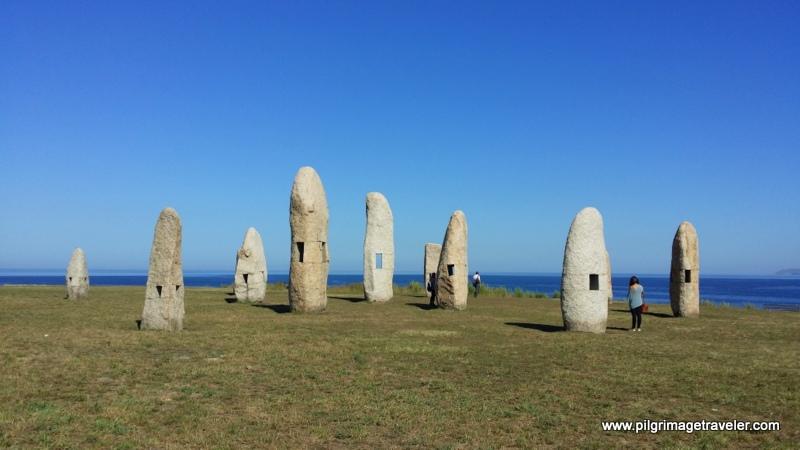 Parque de los Menhires, La Coruña, Galicia, Spain