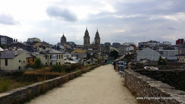 The Path to the Cathedral, Lugo, Spain