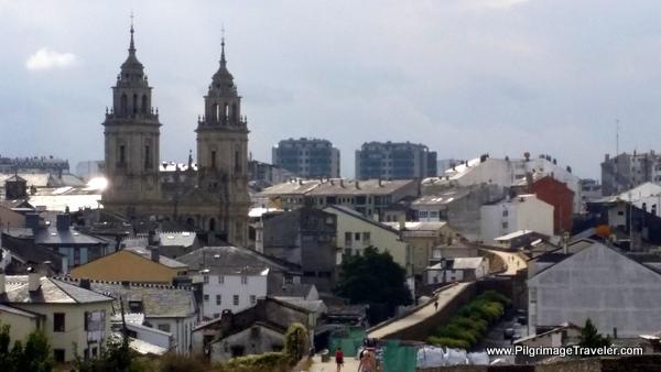 Cathedral de Santa María de Lugo Spires