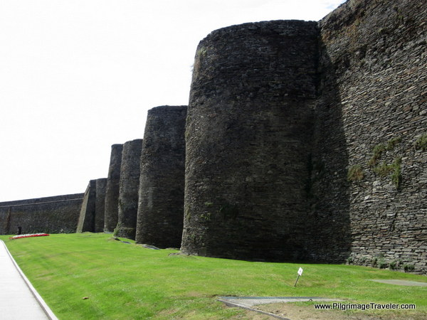 roman fortifications of Lugo, Spain