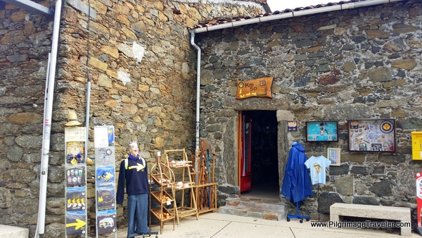 Souvenir Shop on the French Way, Melide, Spain