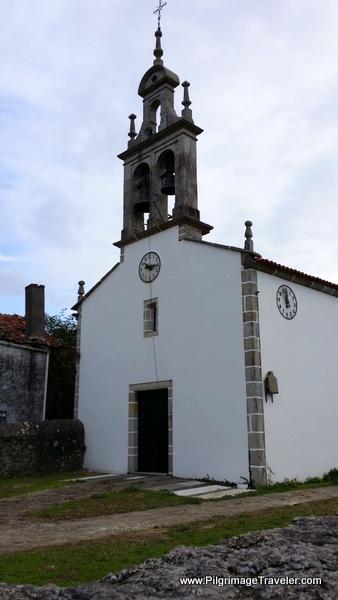 Igrexa de Santiago de Boente, Spain on the Camino France