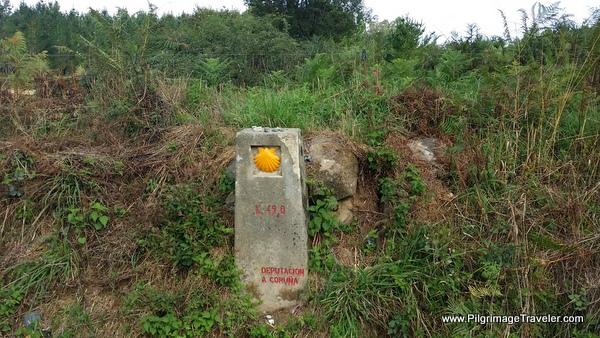 Camino Francés Waymark, 49 Km