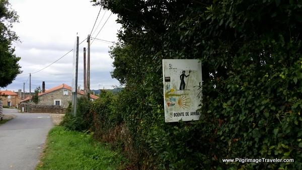 Walking into Boete, Camino Frances, Spain