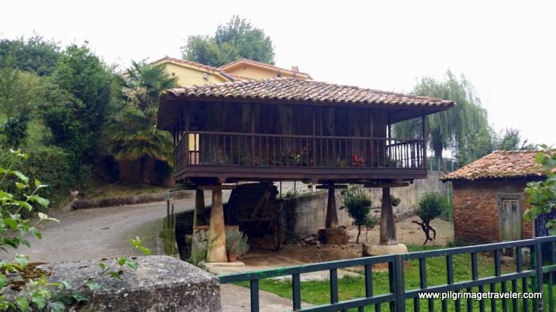 Asturias-Style Hórreo, Oviedo, Spain