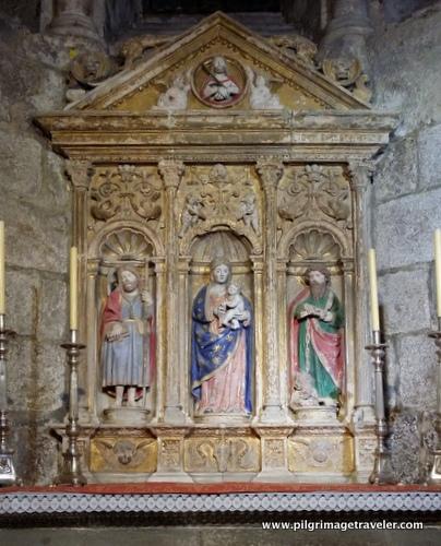 Old Wooden Side Altar, Cathedral of Santiago de Compostela