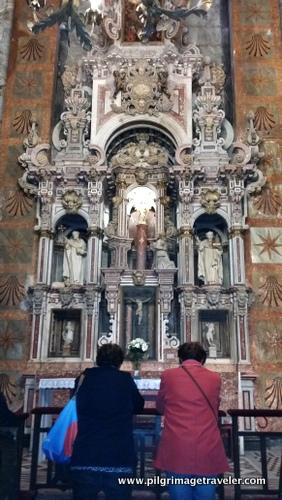 Ornate Side Altar, Cathedral of Santiago de Compostela