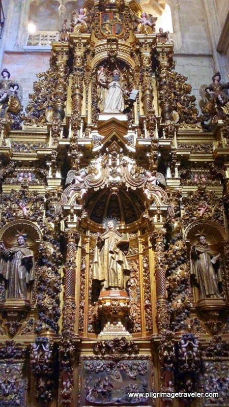 Side Altar of Cathedral of San Salvador, Oviedo, Spain