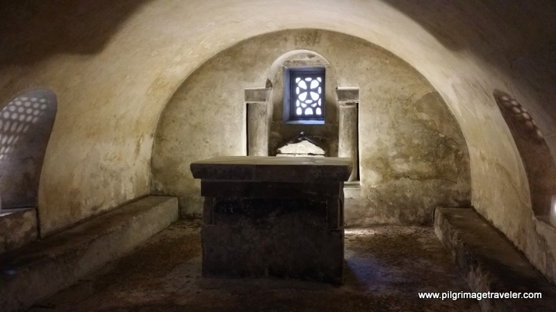 Crypt of Saint Leocadia, Cathedral of San Salvador, Oviedo, Spain