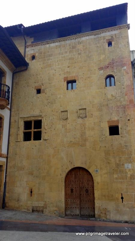 Casa de la Rúa, Oldest Civil Building in Oviedo, Spain