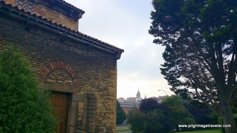 San Salvador Cathedral Spires, by San Julián de los Prados, Oviedo, Spain