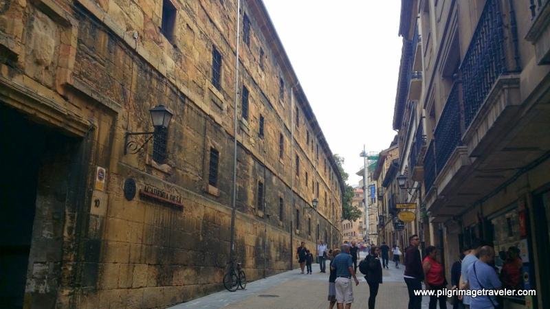 Calle de Águila, Pedestrian Street, Oviedo, Spain