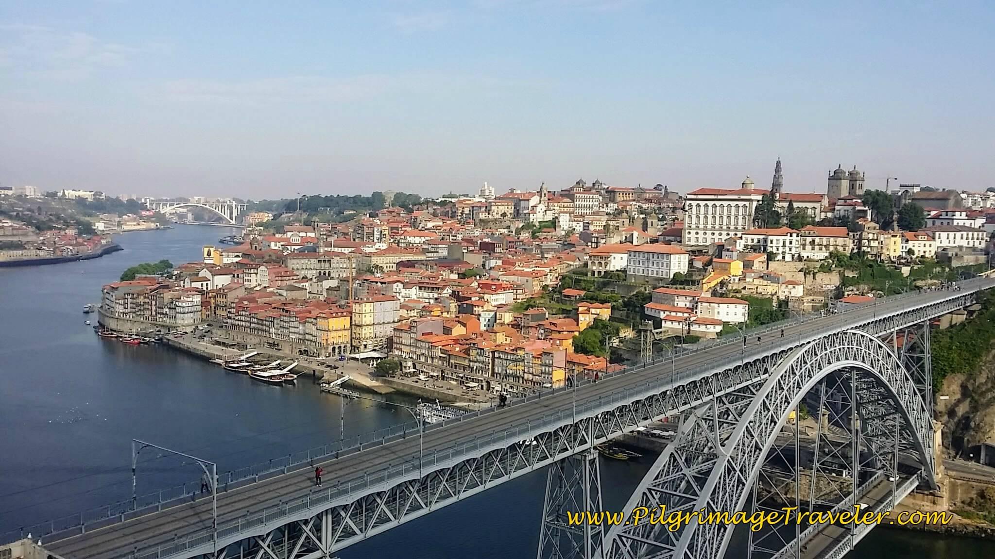 A Bird's Eye View of Porto, Portugal