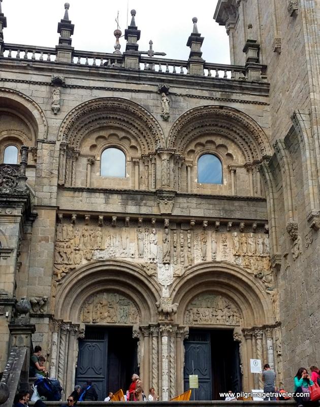 Puerta de Platarías, Cathedral of Santiago de Compostela, Spain