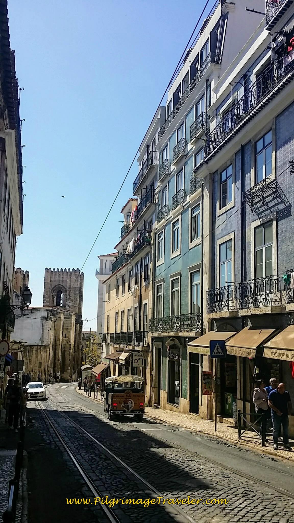 Rúa Augusto Rosa, Lisbon, Portugal