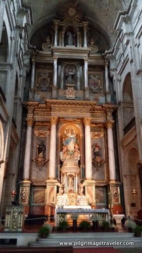 Altar de Convento de San Francisco, Sanitago de Compostela, Spain