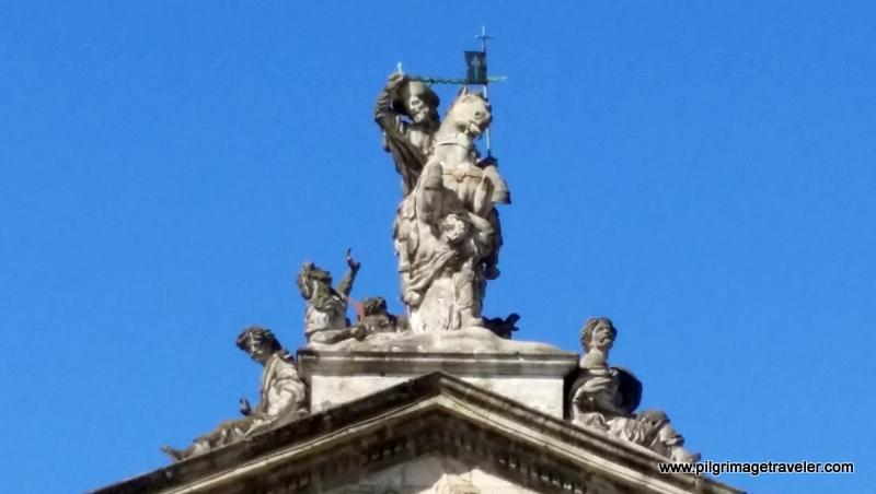 St. James, the Moor Slayer, Santiago de Compostela