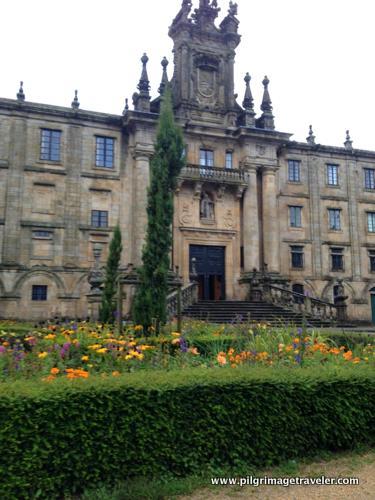 Seminario Mayor, Garden View, Santiago de Compostela, Spain