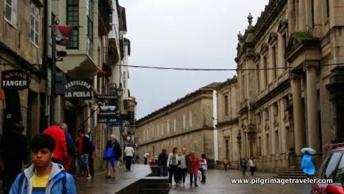 Rúa de San Franscisco, Sanitago de Compostela, Spain