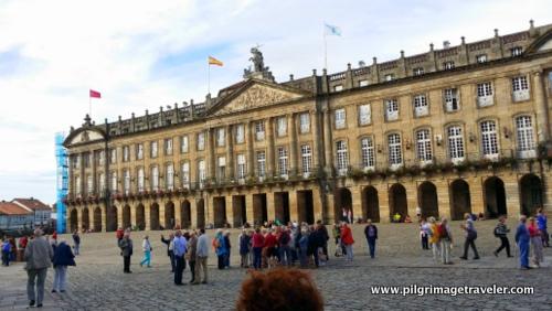 The Palacio de Rajoy, Praza do Obradoiro, Santiago de Compostela, Spain