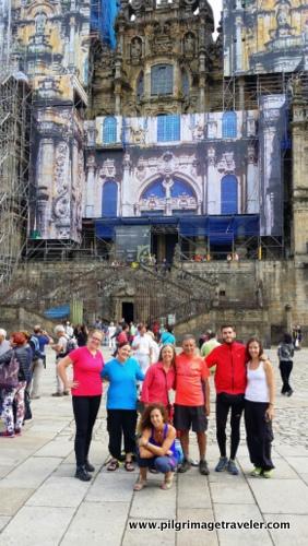 Camino Family, Cathedral of Santiago de Compostela, Spain