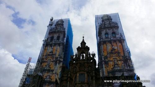 Cathedral Towers, Santiago de Compostela, Spain