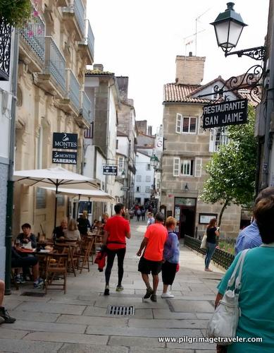 Santiago de Compostela Streets, Spain