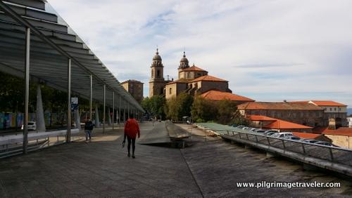 Avenida de Xoán XXIII to San Francisco Church, Santiago de Compostela, Spain