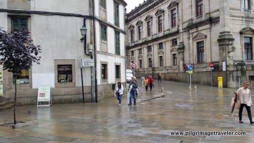 Rúa de San Francisco, Sanitago de Compostela, Spain