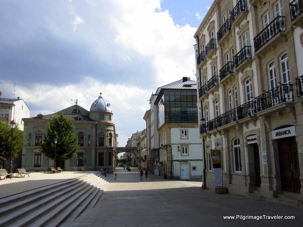 Western End of the Praza Maior, Lugo, Spain
