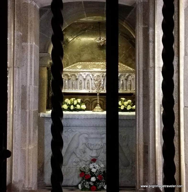 Tomb of St. James, Santiago de Compostela Cathedral