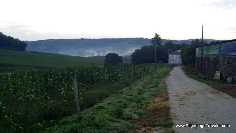 Quiet Roads Out of Town on Day Nine, Camino Primitivo