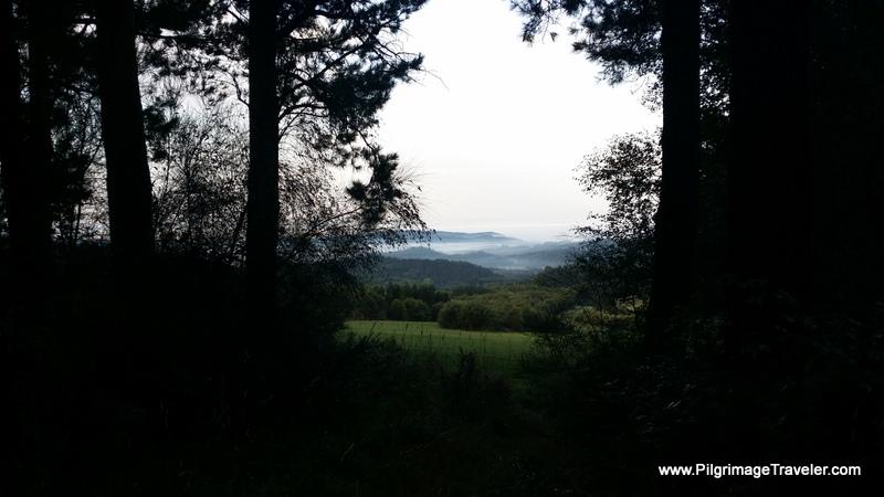 The Camino Descends Toward Vilabade