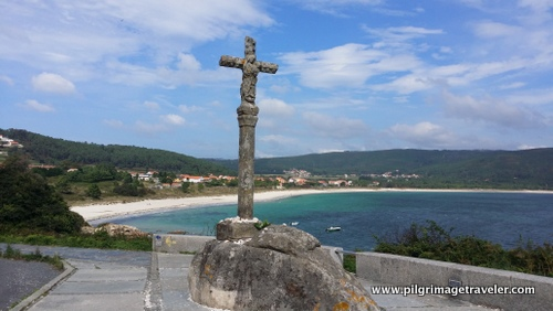 Baixar Cross at the Beginning of the Camino Finisterre to Muxía