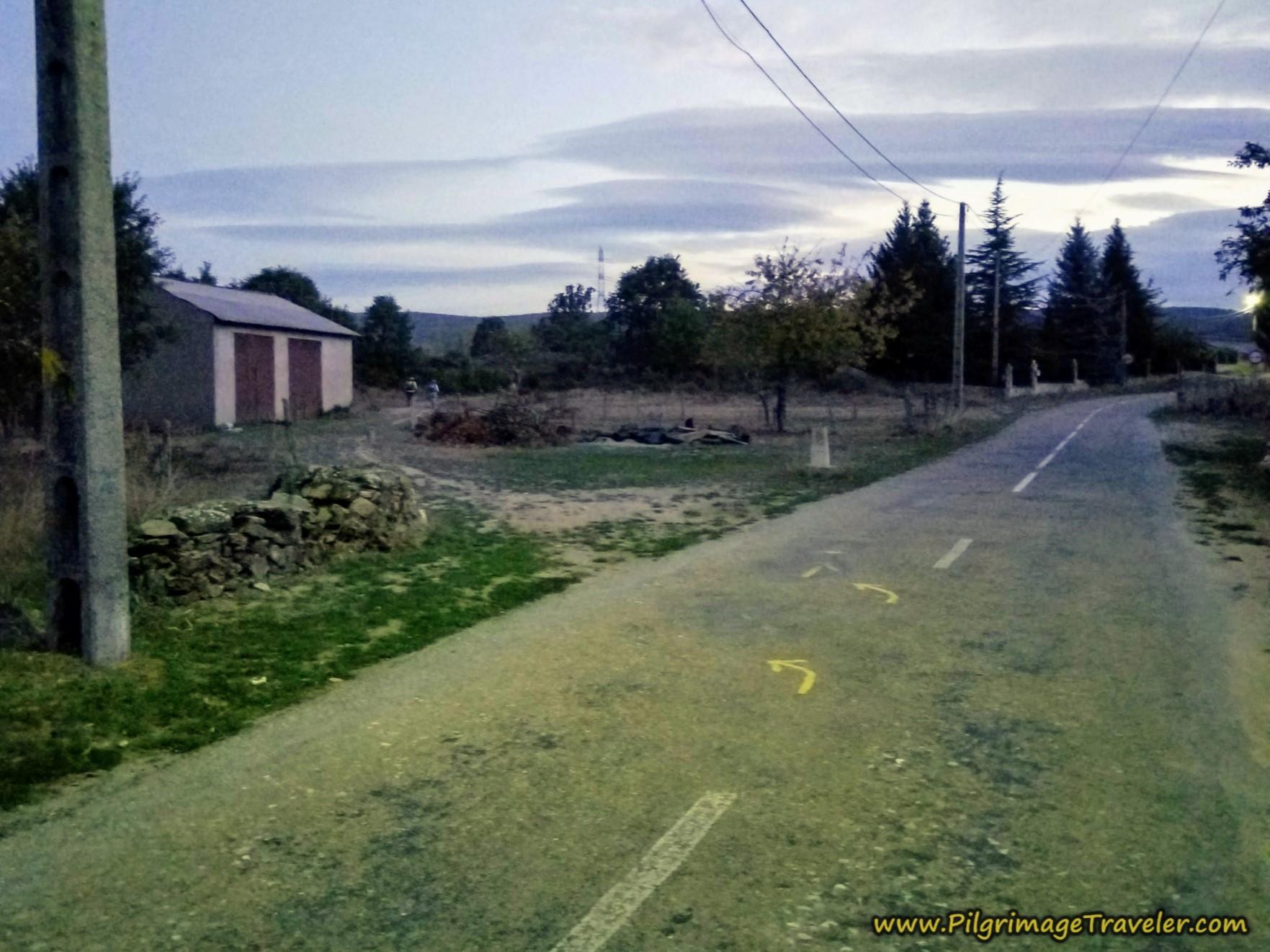 Left Turn in Entrepeñas