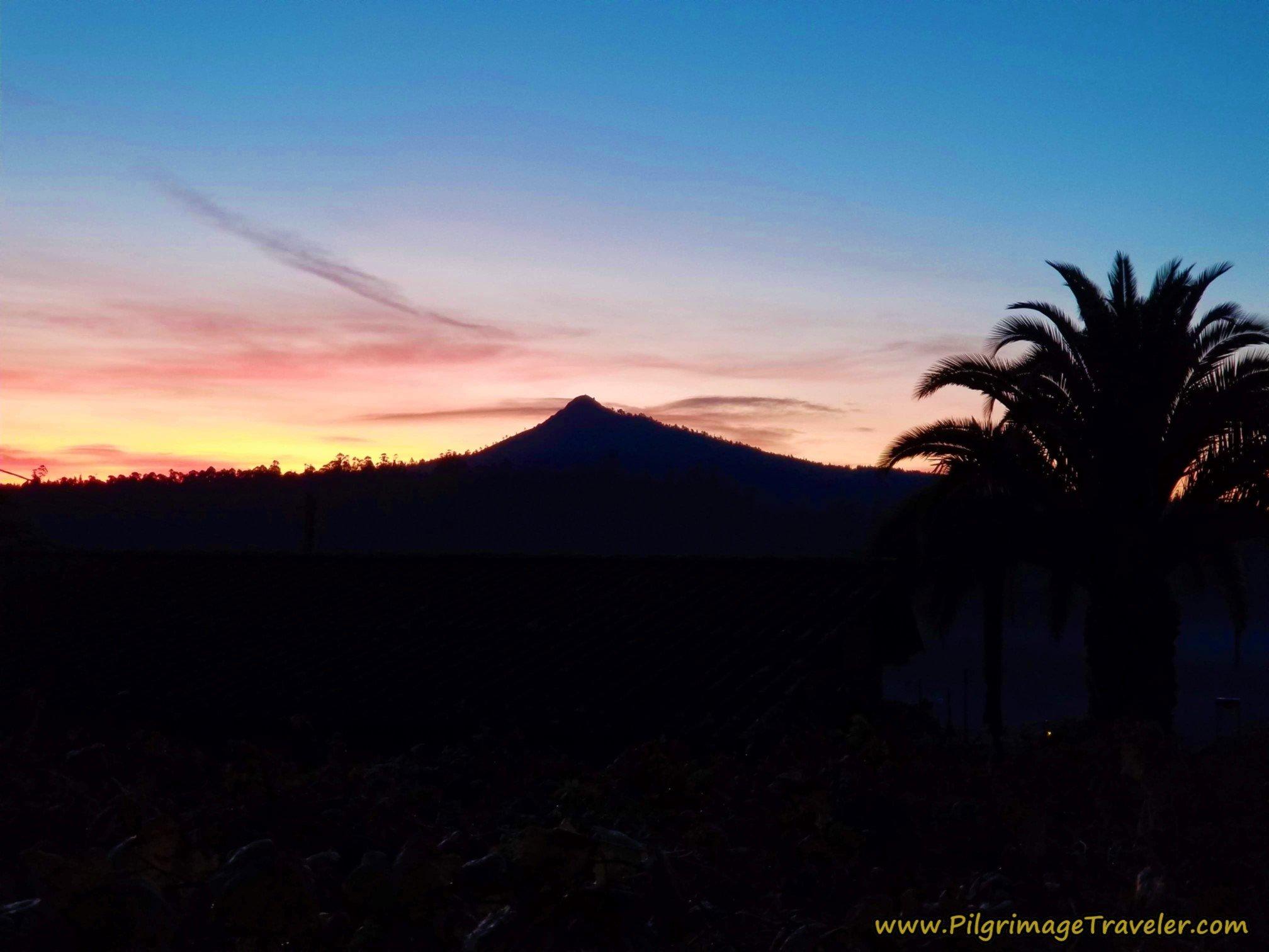 Pico Sacro at Dawn