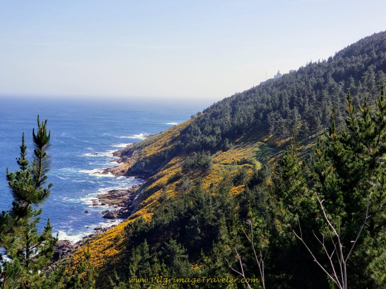 Costa da Morte and First Glimpse of Lighthouse on Cape Fisterra