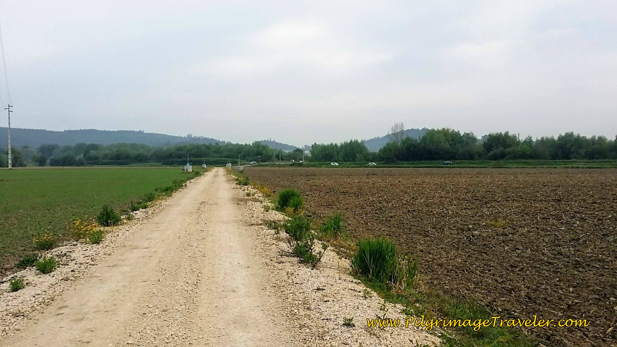 Shortcut to Rua Cabeço towards Adémia, day ten on the Camino Portugués