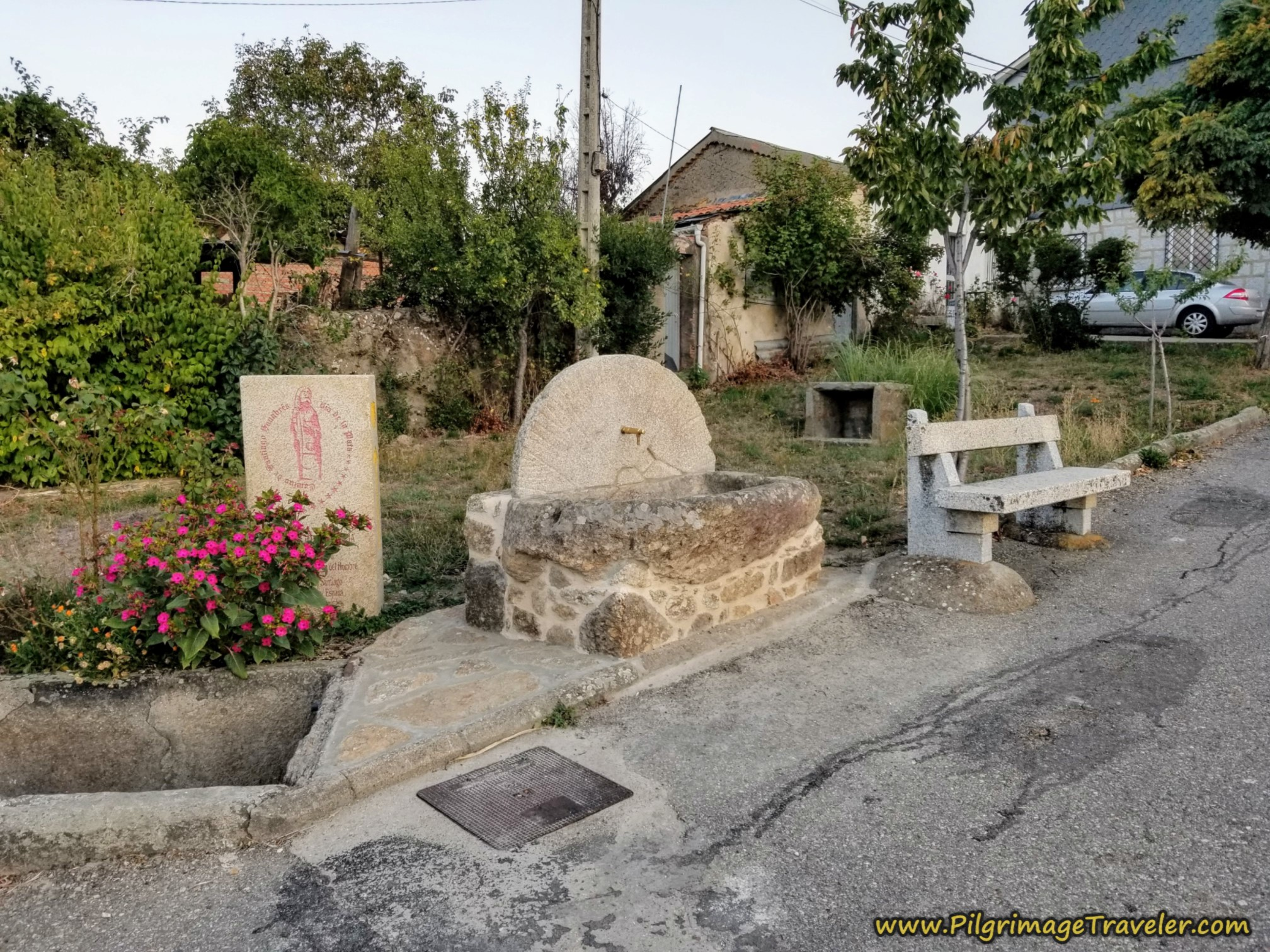 Pilgrim's Rest Stop in Asturianos