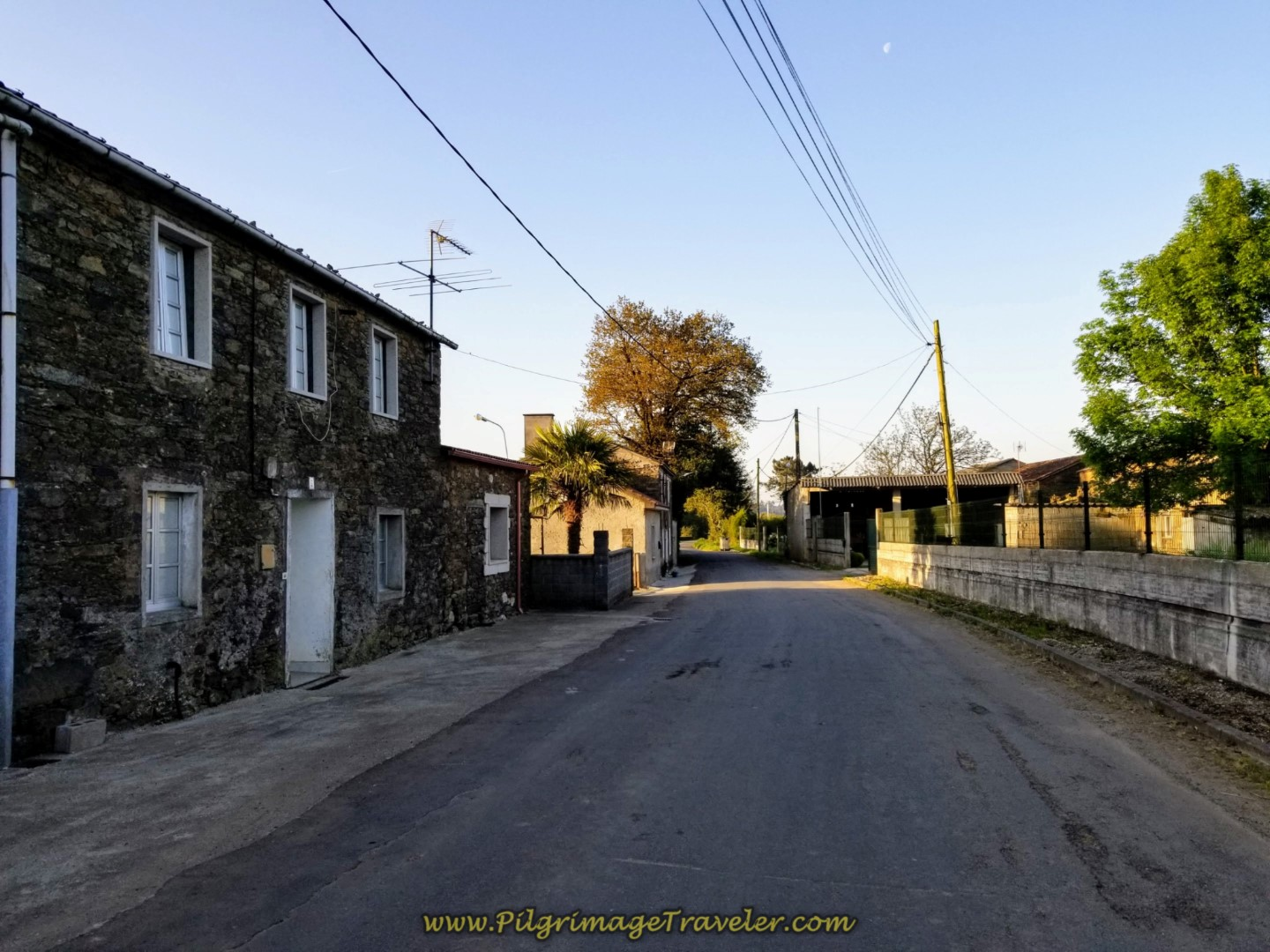 Walking Through As Mámoas on Day Seven of the Camino Inglés