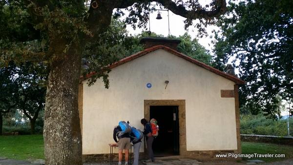 Capilla de San Marcos on the Camino Frances