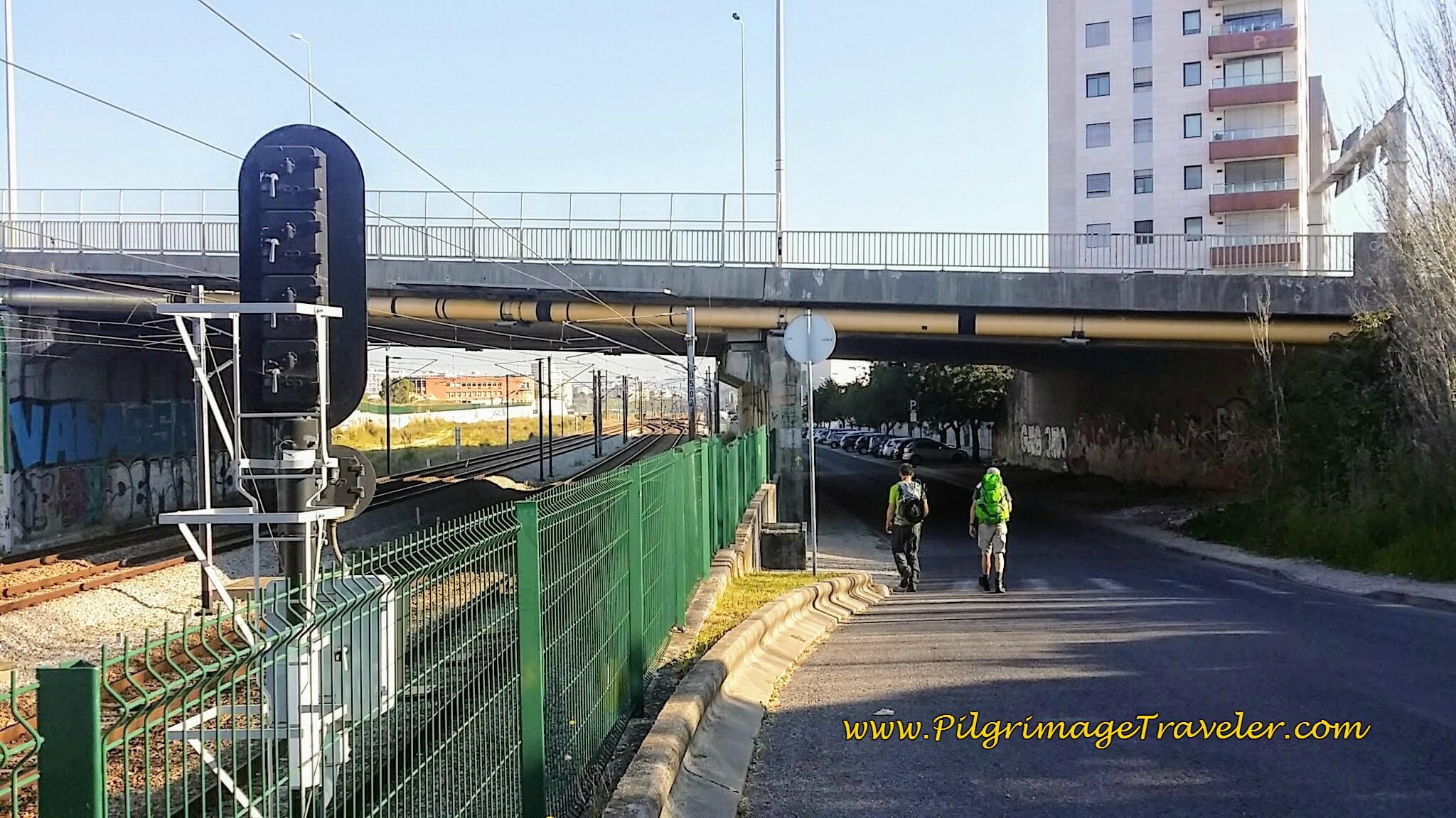 Rua Vale Formoso ~ Descending Toward the Rio Tejo, Lisbon, Portugal